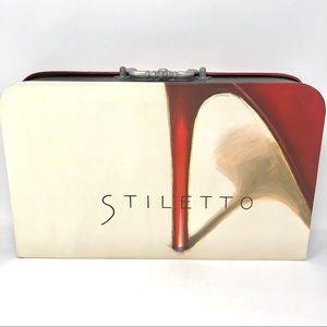 Marco Fabiano Stiletto Shoe Graphic Storage Box